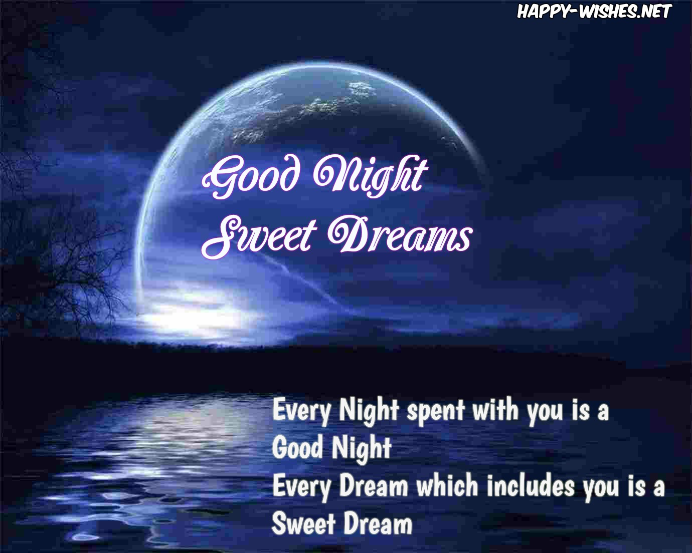 Now You Can Wish Good Night Sweet Dreams And Good Night Wishes Quotes And  Also Free Beautiful Good Night Wallpapers Using Below Good Night And Sweet  Dreams ...
