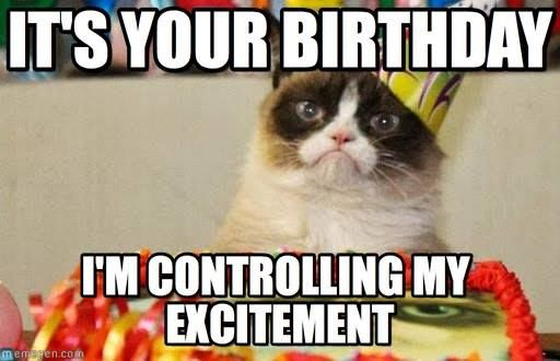 Best happy birthday meme for him and her funny and sarcastic or annoyed because of these birthday wishes they will enjoy all these unique wishes you may also like funny and sarcastic happy birthday meme voltagebd Images
