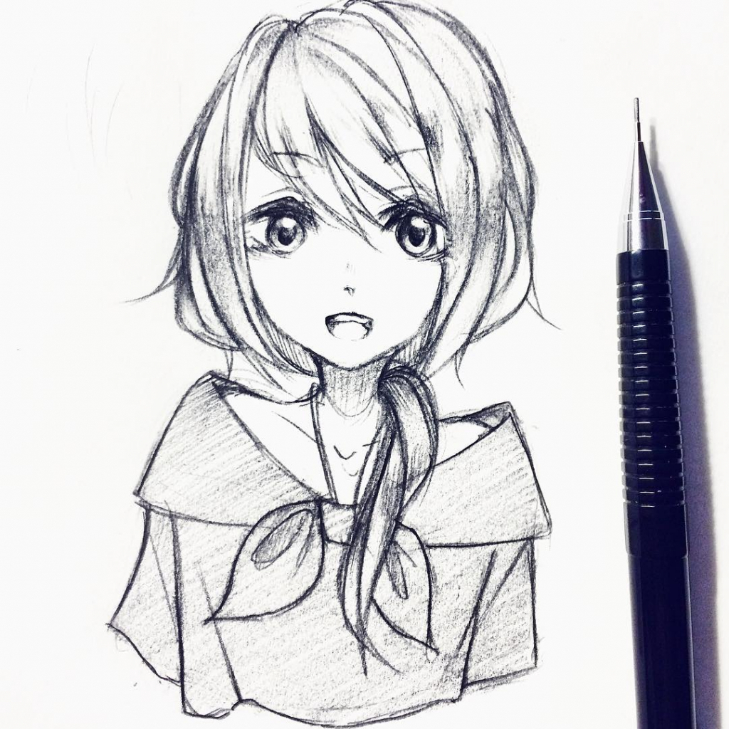 Anime girl drawing tumblr anime drawing tumblr girl drawing art library drawing sketch picture